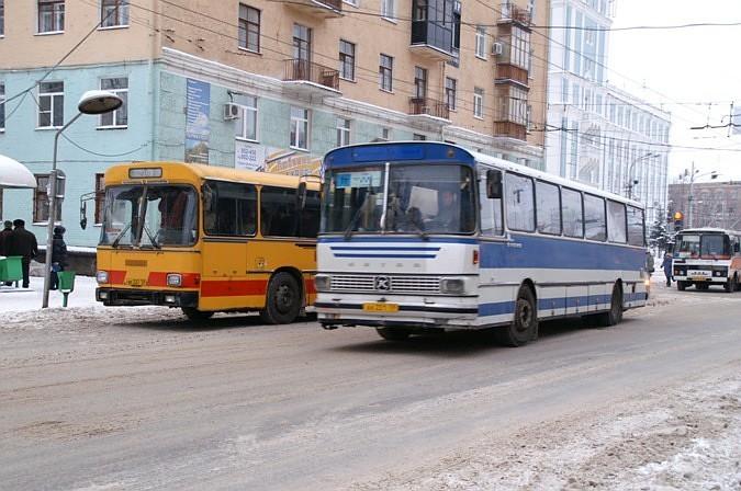 Перми: автобусные маршруты