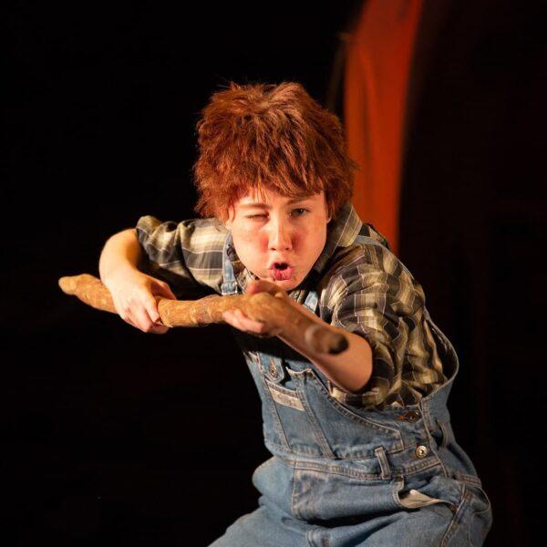 Спектакль «Вождь краснокожих» в Губернском театре