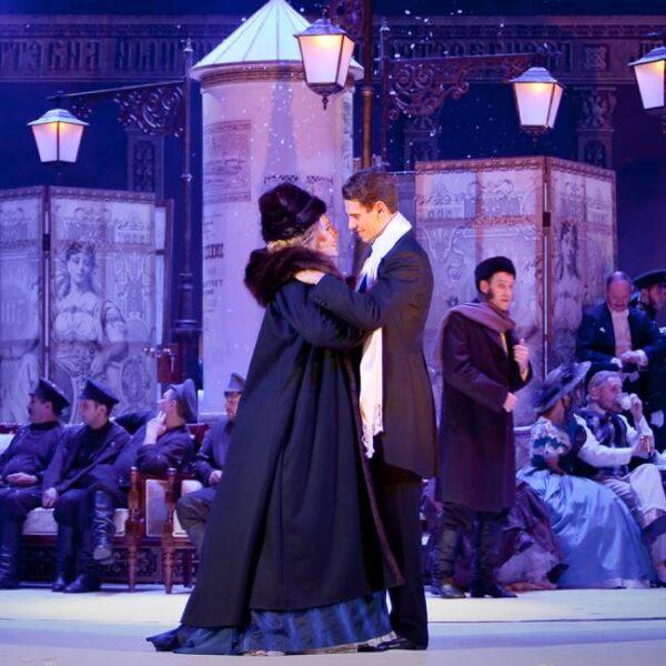 Спектакль «Нашла коса на камень» в Губернском театре