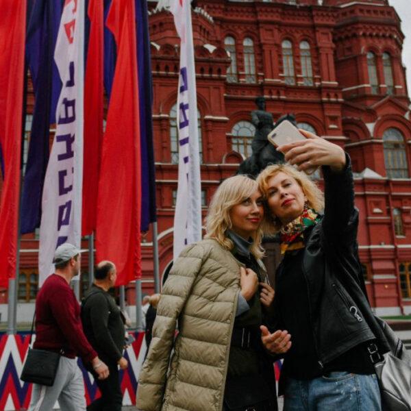 Как украсили Москву ко Дню города: главным элементом станут флаги