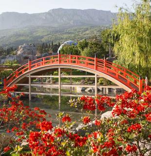 """Японский сад """"Шесть чувств"""" в Ялте"""