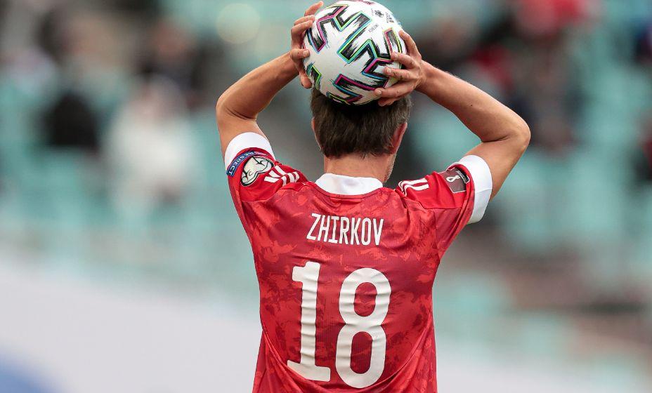 Юрию Жиркову закрыт вход на базу сборной России по футболу из-за ковидного протокола. Фото: Global look Press