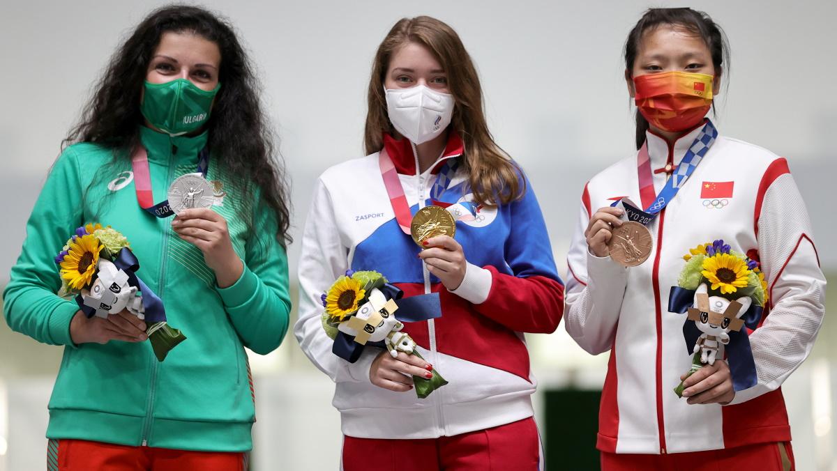 Россиянка Бацарашкина победила на Олимпиаде в Токио. Фото: REUTERS