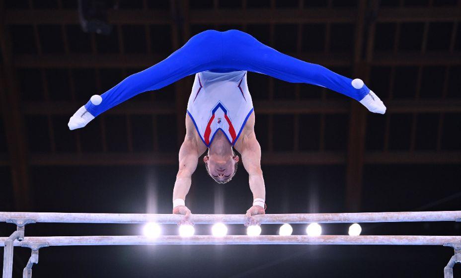 Гимнаст Давид Белявский внес свой вклад в золотую медаль сборной России в командной дисциплине  Игр-2020. Фото: Reuters