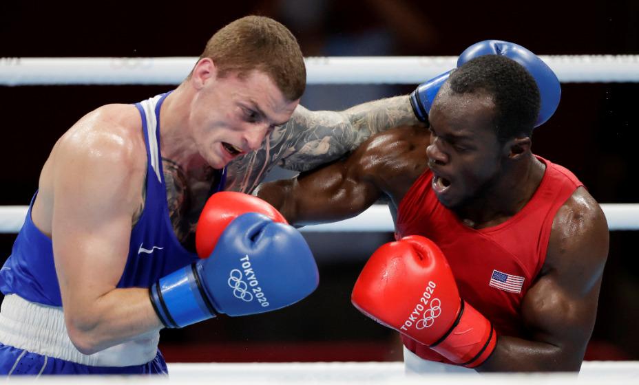 Боксер Глеб Бакши побил американца. Фото: Reuters