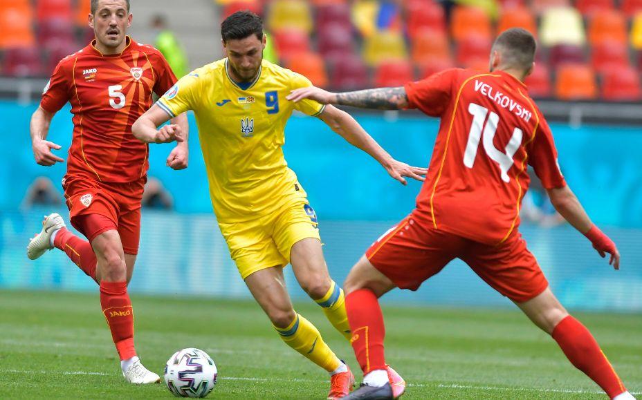 Украинец Роман Яремчук на Евро-2020 забил два мяча и отдал одну голевую передачу. Фото: Global Look Press