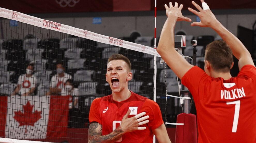Россия - Канада - волейбол