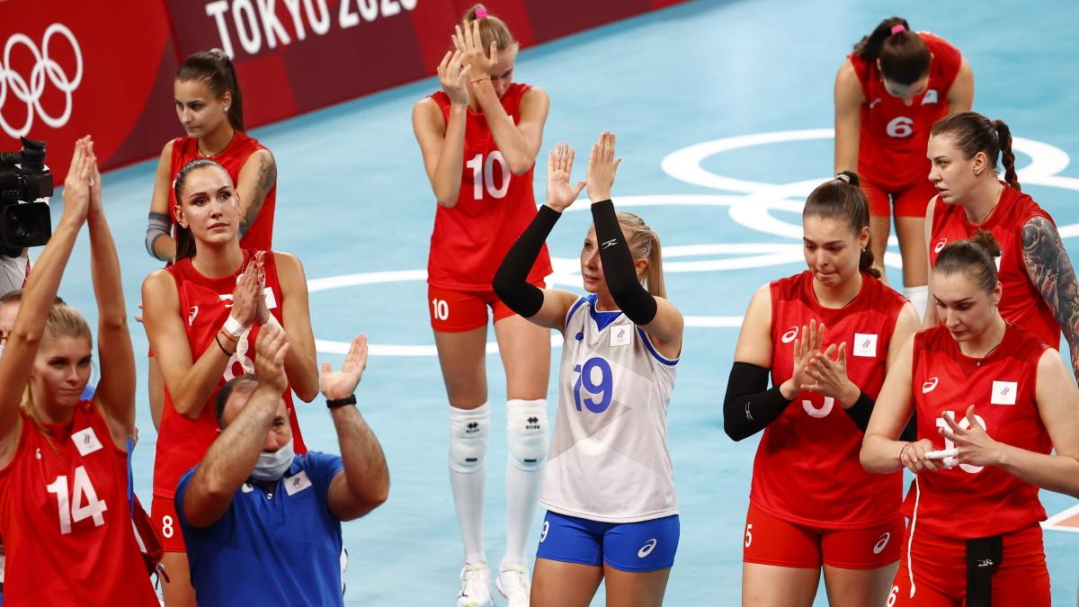 Волейболистки сборной России досрочно вышли в плей-офф Евро. Фото: Reuters