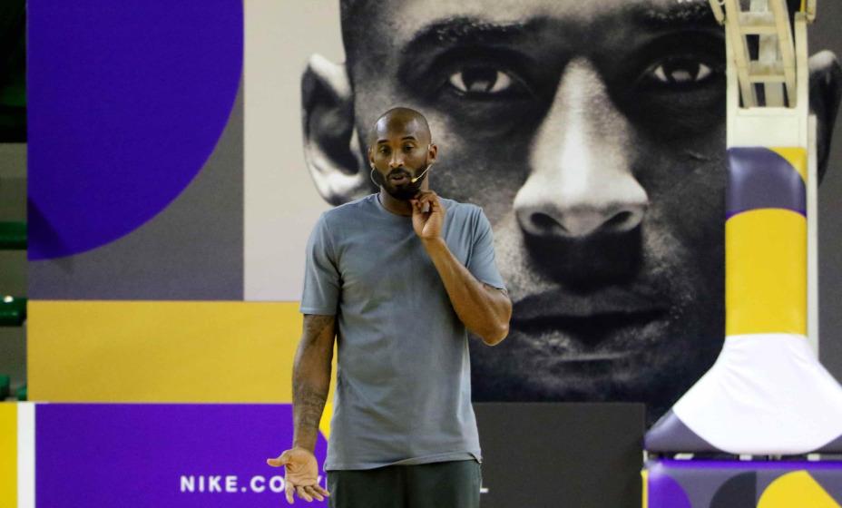 Фотографии легенды баскетбола Коби Брайнта были проданы на аукционе. Фото: Global Press Look