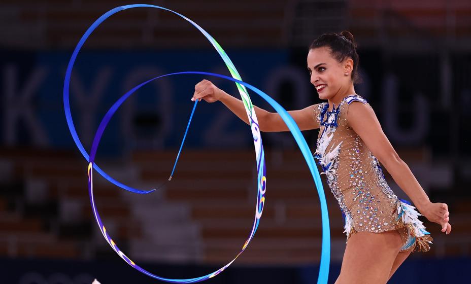 Израильская гимнастка сенсационно победила в индивидуальном многоборье на Играх в Токио, но ей пришлось закрыть свою страницу в Instagram. Фото: Reuters