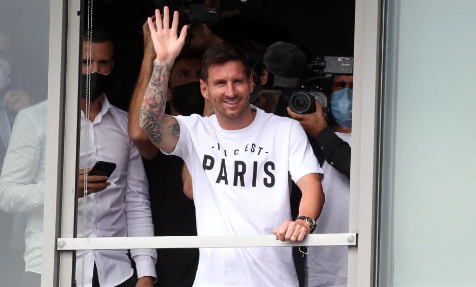 Аргентинец Лионель Месси приглашает всех на матчи «ПСЖ». Фото: Reuters