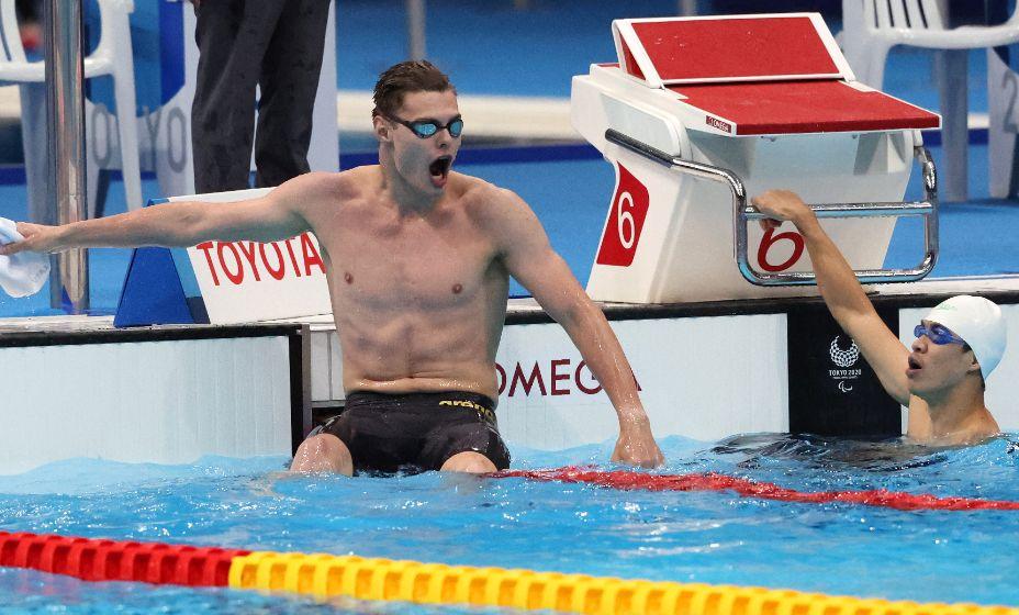 Андрей Николаев принес России 23-е золото на Паралимпиаде-2020. Фото: Reuters