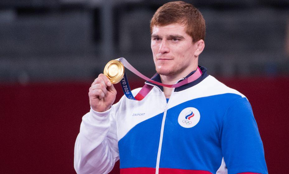 Российский борецМуса Евлоев завоевал первую в своей карьере медаль на Олимпиаде. Фото: Global Look Press