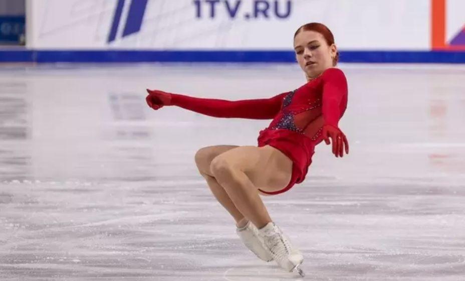 Александра Трусова «зажгла» в Сызрани на Кубке России. Фото: Валерий Звонарев