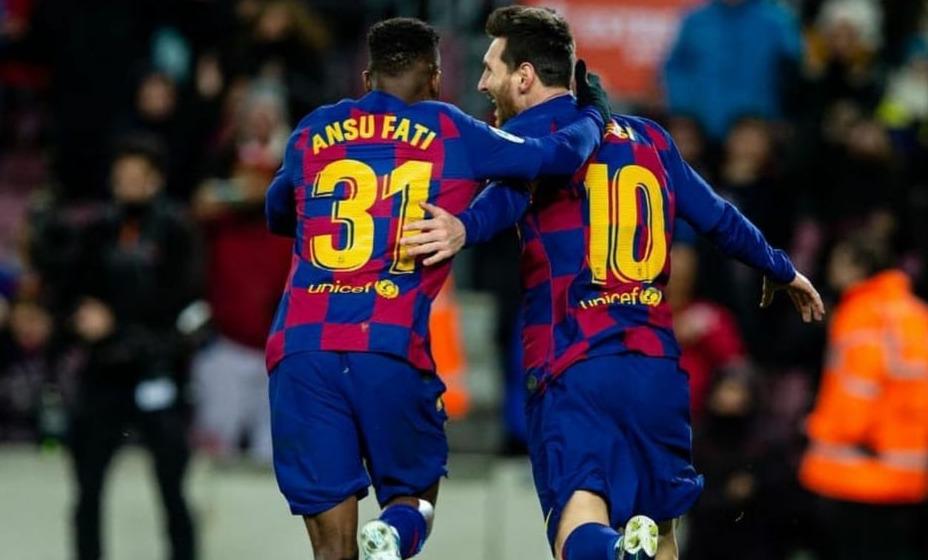 Фати будет выступать за «Барселону» под 10-м номером. Фото: Инстаграм Ансу Фати