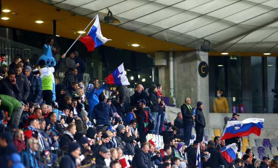 Болельщики сборной России добрались до Марибора и принесли удачу нашей команде. Фото: Reuters